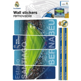 Real Madrid wall sticker stadium 1 sheet