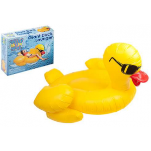 Yellow Duck summer inflatable lounger