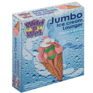 Jumbo Ice Cream summer inflatable lounger