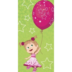 Masha and Bear beach towel