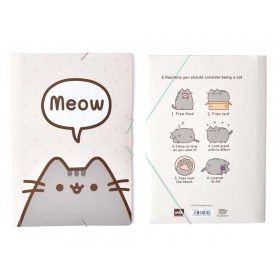 Pusheen the Cat paper folder