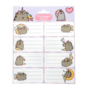 Pusheen notebook stickers