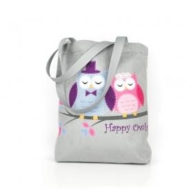 Happy Owls Shopping bag