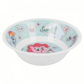 My Little Pony melamine bowl