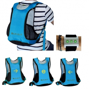 Spirit backpack light signals