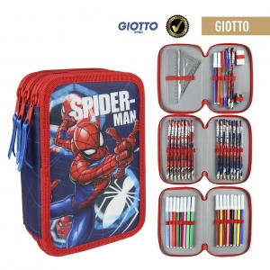 Spiderman pencil case with accessories