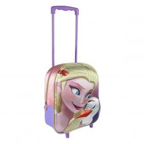 Frozen 3D trolley backpack 31 cm