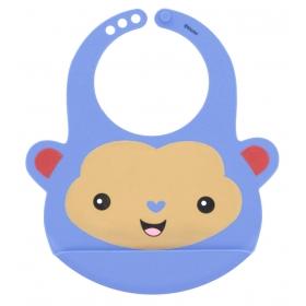 Fisher Price silicone bib – monkey