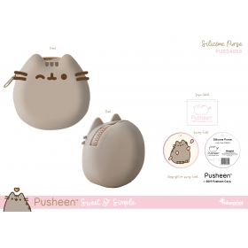 Pusheen Silicone Purse