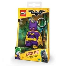 Lego Batman Movie keychain with LED torch – Batgirl