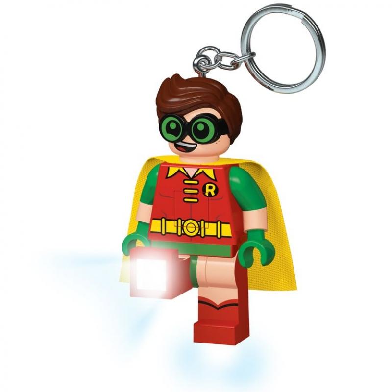 Lego Batman Movie keychain with LED torch - Robin ...