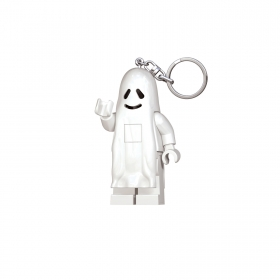 Lego keychain with LED torch – ghost