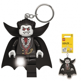 Lego keychain with LED torch – Lord Vampire