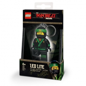 Lego Ninjago keychain with LED torch