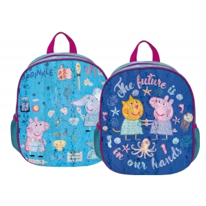 Peppa Pig cequin backpack