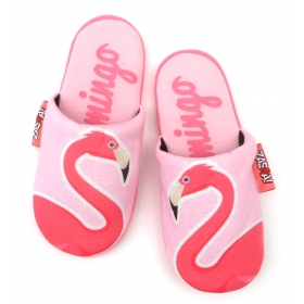 Zaska slippers - flamingo