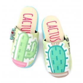 Zaska slippers - cactus
