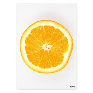 Pomarańcza 2 decorative metal poster