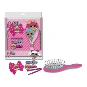 LOL Surprise hair accessories and brush
