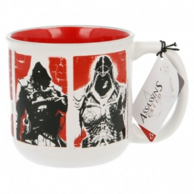 Taza Ceramica Desayuno 385 Ml Assassins Creed Young Adult