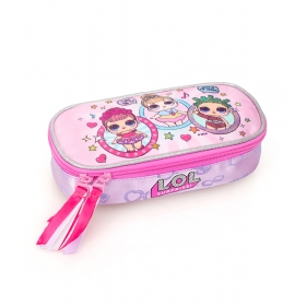 LOL Surprise Oval Pencil Case