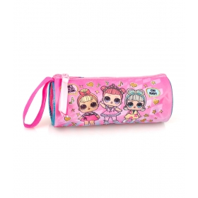 LOL Surprise Round Pencil Case