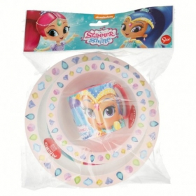 3 Pcs Kids Micro Set In Poly Bag Shimmer And Shine Palace