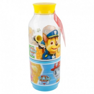 Botella Snack 300 Ml. Paw Patrol Colours