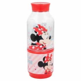 Tritan Snack Bottle 300 Ml Minnie Electric Doll