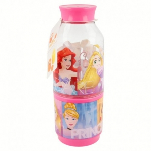 Tritan Snack Bottle 300 Ml Princess Friendship Adventures