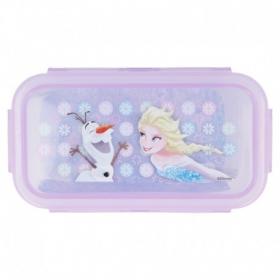 Square Hermetic Food Container 290 Ml Frozen Iridescent Aqua