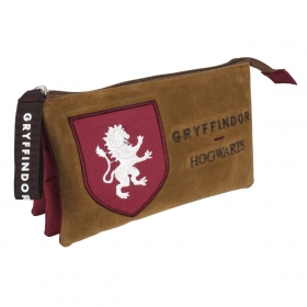 Harry Potter 3 compartments pencil / cosmetic case