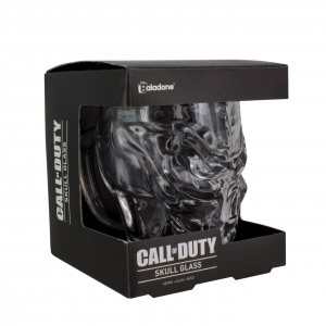 Call of Duty Skull Glass