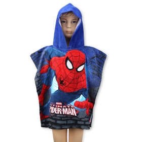 Spiderman poncho towel