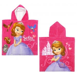 Sofia the First hooded poncho towel