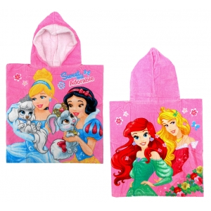 Disney Princess hooded poncho towel
