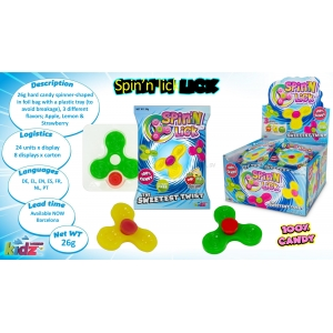 Spin N Lick candy