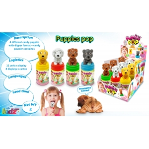 Puppies Pop – 3D Lollipop