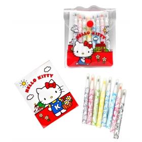 Hello Kitty Vintage Mini Fibre Pens
