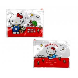 Hello Kitty Vintage Zip Lock Wallet