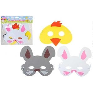 Easter masks 3 pack