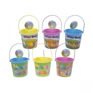 3d design easter bucket with handle