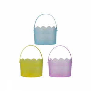 Summertime basket with handle