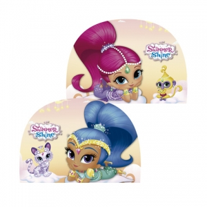 Shimmer and Shine swimming cap