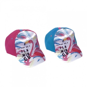 Zaska Flamingo baseball cap