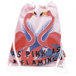 Flamingo gym bag