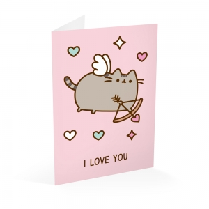 Pusheen greeting card