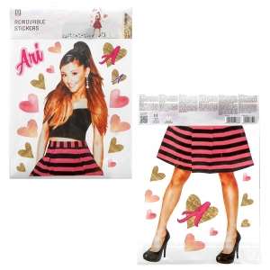 Ariana Grande wall stickers – 2 sheets