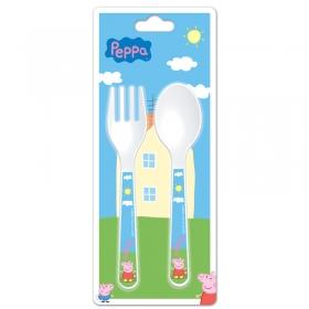 Peppa Pig cutlery set 2 pcs