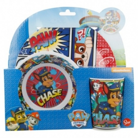 Paw Patrol Melamine breakfast set